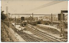 HURSTVILLE RAILWAY STATION  NSW PHOTO POSTCARD