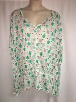 Lane Bryant Blouse Polka Dolman Womens Plus Size 14/16 18/20 22/24 26/28 NWOT