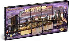Schipper 609450806 - Malen nach Zahlen, New York in der Morgendämmerung, 132 x..