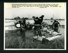 Tony Lema plane crash debris Lansing Illinois 1966 Press Photo Golf