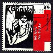 2458 Vollstempel gestempelt Briefzentrum 80 BRD Bund Deutschland Jahrgang 2005