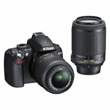 Near Mint! Nikon D3000 with AF-S 18-55mm and 55-200mm ED VR - 1 year warranty