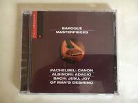 CD - BAROQUE MASTERPIECES - Clean Used -  GUARANTEED