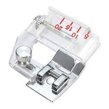 Adjustable Bias Binder Presser Foot Attaching Binding Snap-on Sewing Machine #