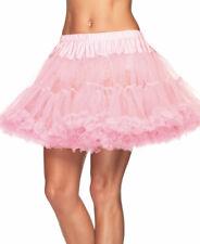 Pink Layered Soft Tulle Petticoat Skirt - Leg Avenue 8990