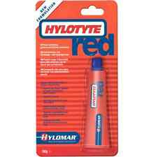 Hylomar hylotyte Rojo 100 Empaquetadura Junta compuesto Semi endurecimiento 40ml 02001 50g