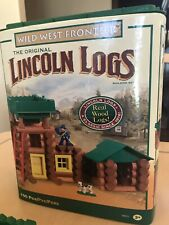 Wild West Frontier Lincoln Log Building set, Complete Set