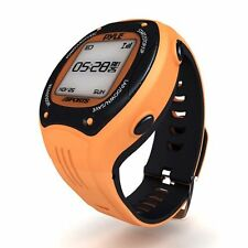 Pyle PSGP310OR Multi-Function LED Sports Training Watch w/GPS Navigation Orange