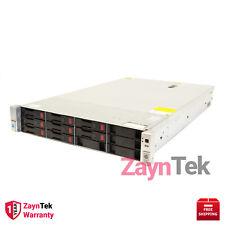 HPE PROLIANT DL380 12LFF G9 RACKSERVER 128GBDDR4 2xE52630v3 NEWHPE 24TB HDD 0 HR