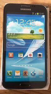 (1) Samsung Galaxy Note II Black Mock Up Generic Display Phone NON-FUNCTIONING