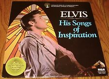 ELVIS PRESLEY CANDLELIGHT MUSIC HIS SONGS OF INSPIRATION LP 1977