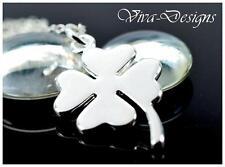 925 Sterling Silver Clover Leaf Charm