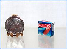 Dollhouse Miniature Handcrafted Ice Cream Crunch Bar Box