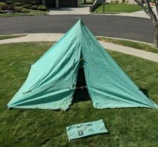 Vintage BSA Boy Scout of America Miners Canvas Camping Tent 1962 1410-200