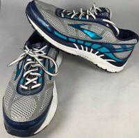 Brooks Dyad 8 Blue Gray Women's Running Shoes - Sz 10 Medium (B) GREAT CONDITION