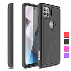 For Motorola Moto One 5G Ace 2021 Case Armor Hard Cover/Glass Screen Protector