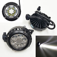 Clear Lens Fog Driving Light Lamps LED OEM Replacement for 2007-2010 Ford Escape