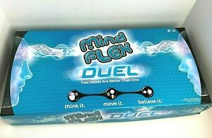 Mattel Mind Flex Duel Mental Brainwave Concentration Game Open Box Tested Works