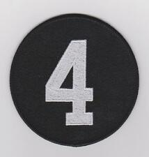 MEMORIAL PATCH FOR JEAN BELIVEAU MONTREAL CANADIENS JERSEY PATCH BLACK VERSION