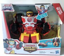 Playskool Heroes Transformers Rescue Bots Academy Electronic Hot Shot NEW