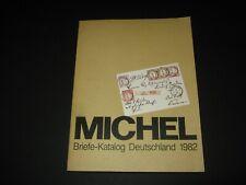 Michel Briefe-Katalog Deutschland 1982