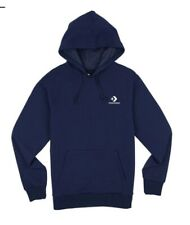 Converse Star Chevron Embroidered Pullover Hoodie - Obsidian Size Medium