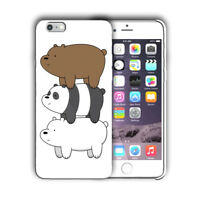 Animation We Bare Bears Iphone 4s 5 SE 6 6s 7 8 X XS Max XR 11 Pro Plus Case 03