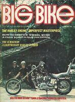 Big Bike Magazine For the Custom Bike Enthusiast October 1971 Chopper, Knuckle