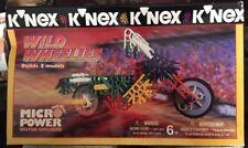 Knex Wild Wheelies Set 11102.New.Micro Power Motor Included