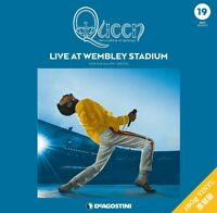 Queen LP Record Collection Live At Wembley Deagostini From Japan F/S