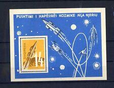 TOP ALBANIEN 1962, MiNr. Block 9, **, postfrisch, LUXUS, SPACE, E10