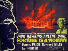 Film Noir: FORTUNE IS A WOMAN, 1957, Jack Hawkins, Arlene Dahl: DVD-R Region 2