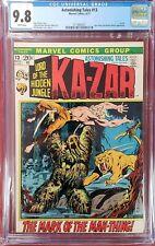 Astonishing tales #13 cgc 9.8  White Pages Ka-zar Kazar