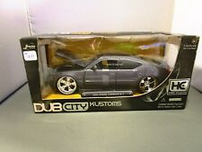 JADA 1/24 DUB CITY HOBBY EXCLUSIVE GRAY 2006 DODGE CHARGER R/T NEW *READ*