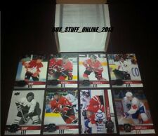 2017 18 UPPER DECK TEAM CANADA COMPLETE SET 1-140 WITH SP's CANADIAN TIRE MINT