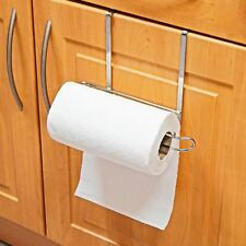 Top Home Solutions Deluxe 27cm Over Cabinet Door Kitchen Towel Roll Storage