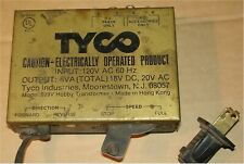 TYCO - HOBBY TRANSFORMER #899V - POWER SUPPLY - TRAIN