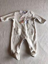 Unisex Baby Boys Clothes 3-6  Months- Disney Fleece   Babygrow Sleepsuit