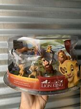 Disney Store Lion King deluxe figurine Set Complete new in package pvc set