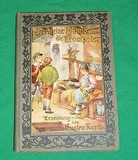 OLD GERMAN CHILDRENs BOOK LITTLE ESKIMO TRUMPET KLEINE TROMPETE GUSTAV NIERITZ