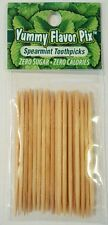 Flavored Toothpicks by Yummy Flavored Pix -SPEARMINT!