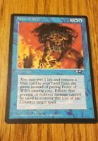 FORCE OF WILL - Magic The Gathering MtG Alliance Card LP/NM