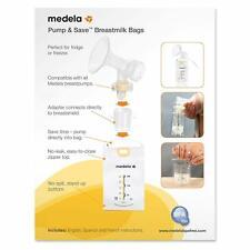 Medela Breastmilk Storage Bags, BPA Free, 100-Count, Authentic Brand New