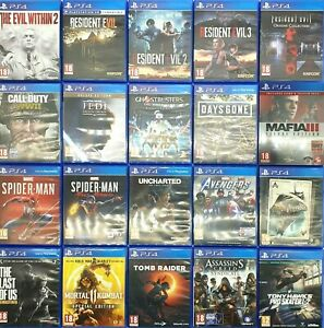 PlayStation 4 Games (PS4) Choose One Game Or Bundle Up Same Day Dispatch