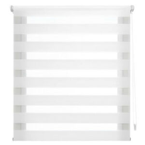 Zebra Blind Premium Roller Day and Night Duo Roller Blind No Drilling Easyfix