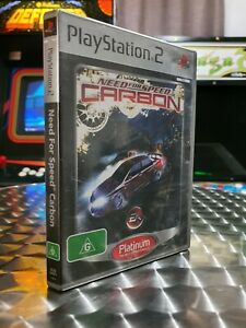 Need For Speed: Carbon - Sony Playstation 2 PS2 Game - With Manual