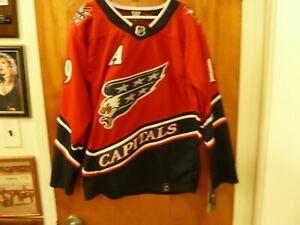 Washington Capitals #19 Niklas Backstrom Reverse Retro Jersey