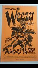 Weezer Hawaii Concert Poster With Guest Buckshot Shorty