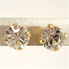 SoHo® Ohrstecker Ohrringe geschliffene Kristalle ss29 gold crystal echtvergoldet