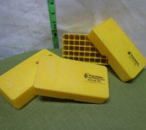 FLAMBEAU 50 round bullets ammo case 44 & 45 Pistol cartridge box ammunition